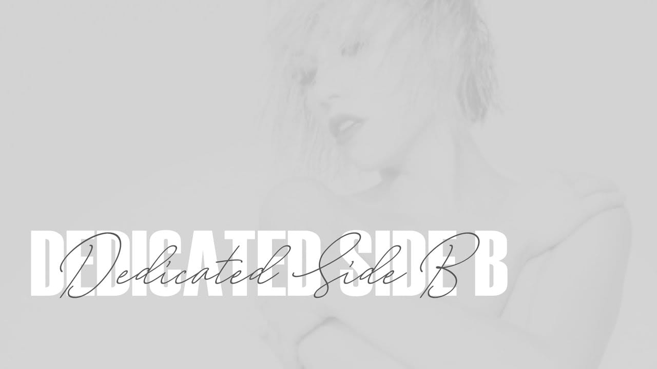 Carly Rae Jepsen Dedicated B Side Promo Image