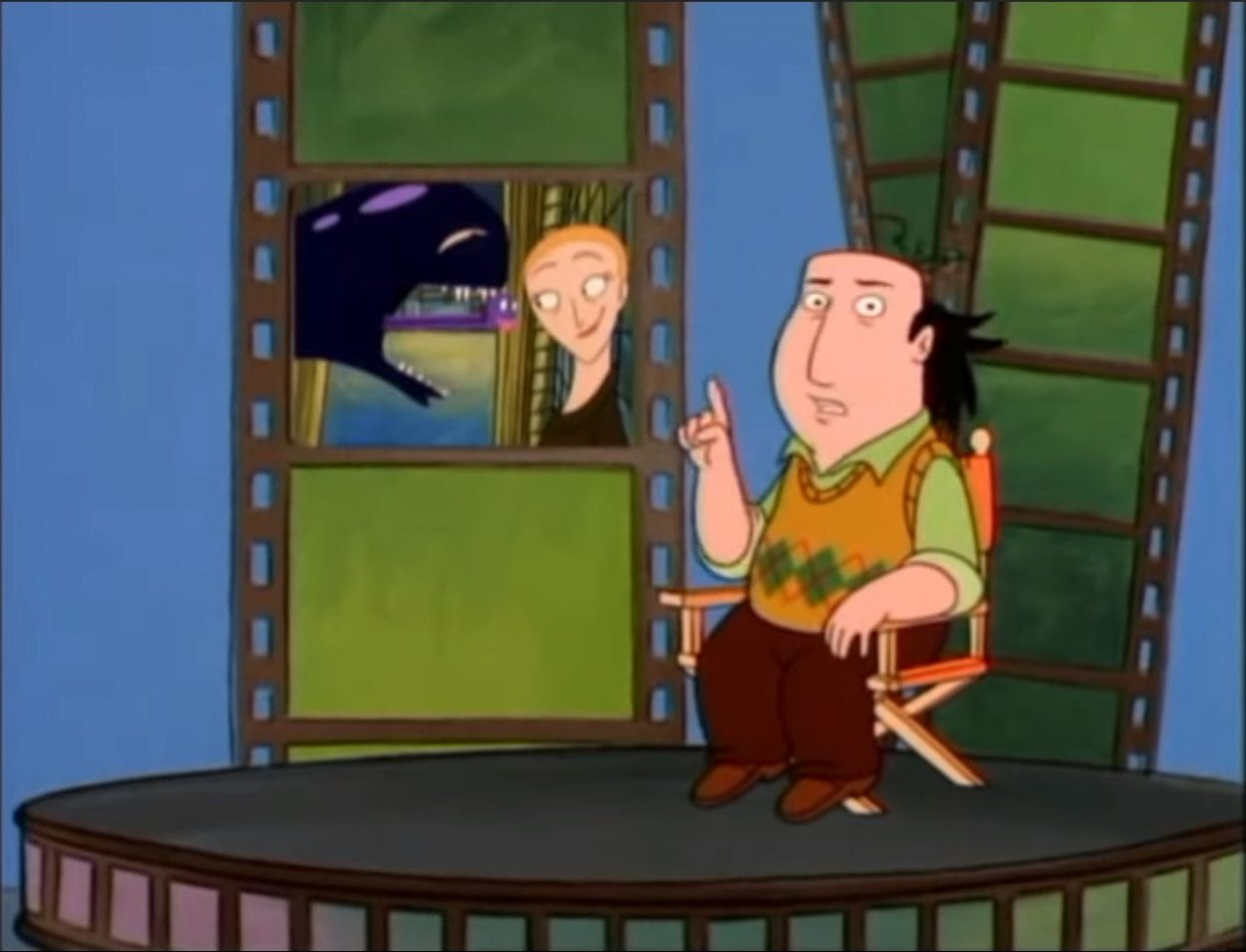 Jay Sherman, the eponymous lead character of The Critic