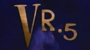 VR.5 logo from opening credits
