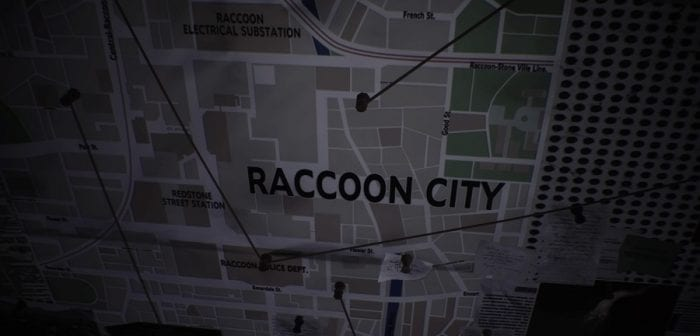 Map of Raccoon City