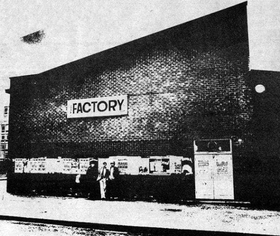Wilson outside his Factory club night