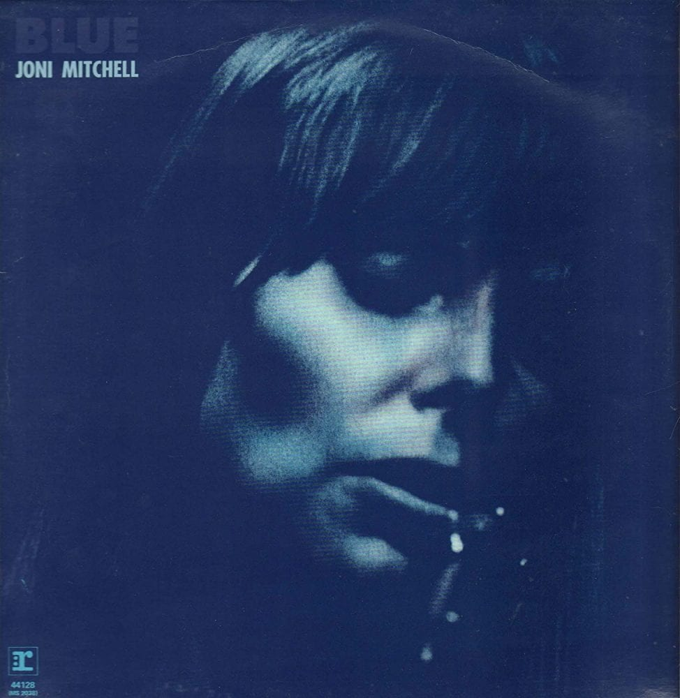 Album cover for 'Blue' by Joni Mitchell