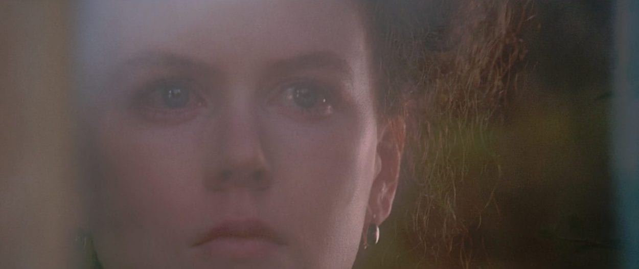 Isabel Archer (Nicole Kidman) looks off into the distance in The Portrait of a Lady