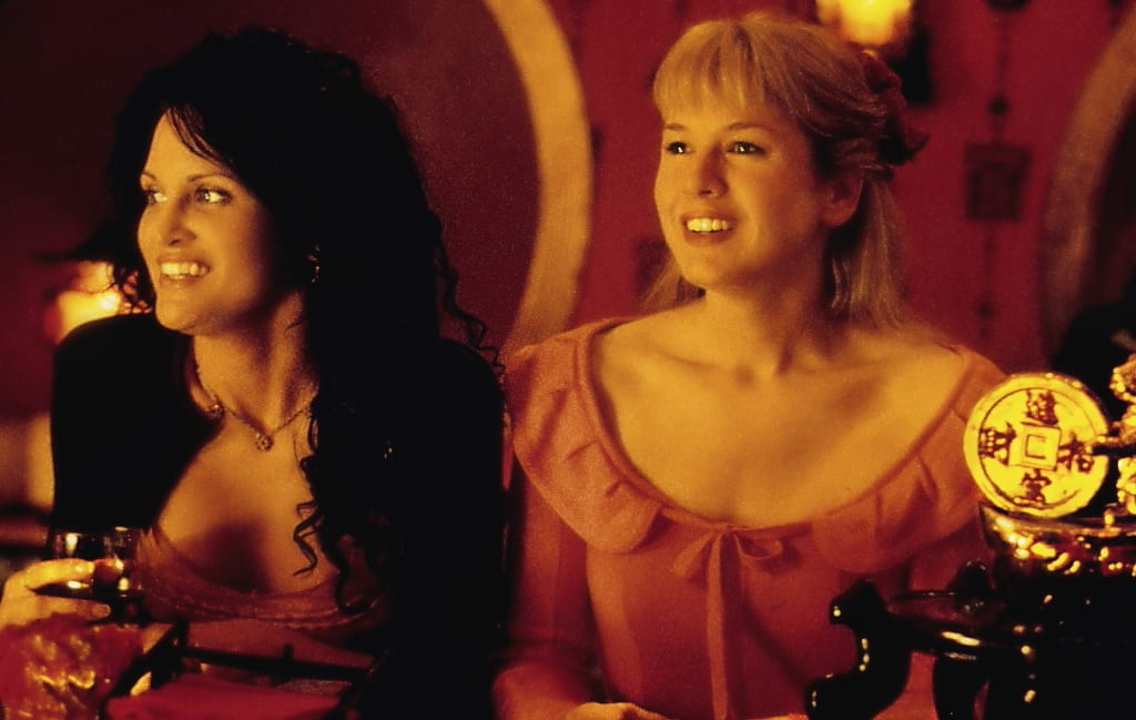 Rosa and Betty enjoy a night out at a Mexican restaurant