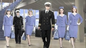 The main characters of ABC's Pan Am