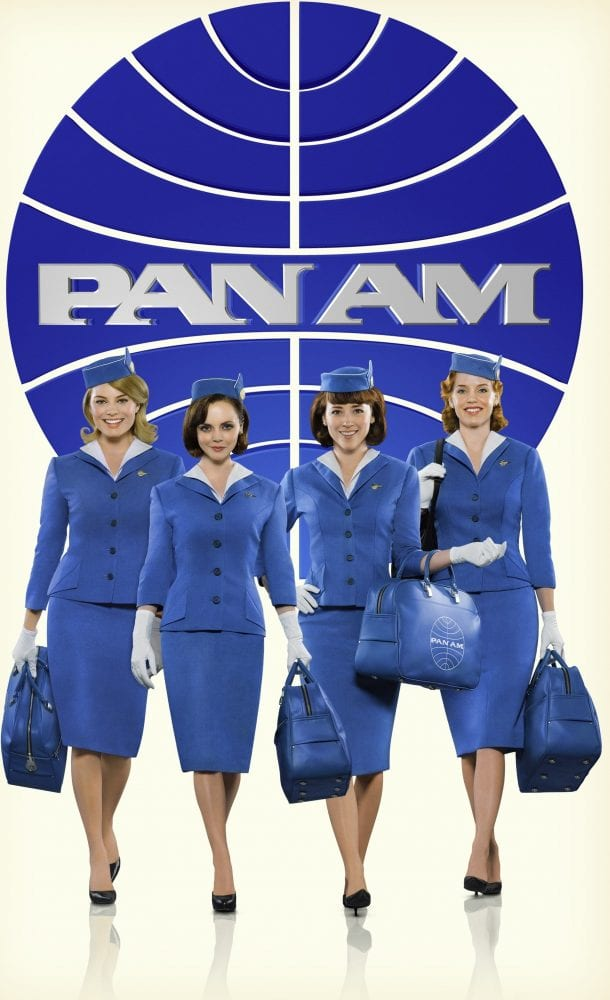 The primary female cast of ABC's Pan Am