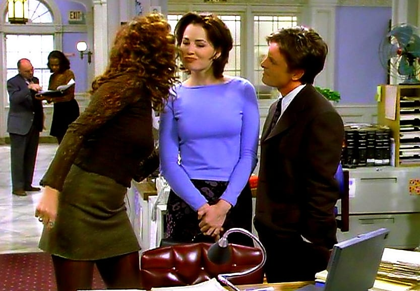Nikki and Mike compete for the affections of Laurie Parres