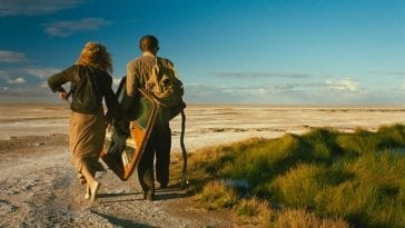 William Hurt and Solveig Dommartin head out to the Australian outback in Until the End of the World