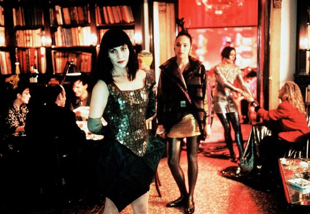 Claire wanders through the vapid party scene of Berlin in 1999 in Until the End of the World