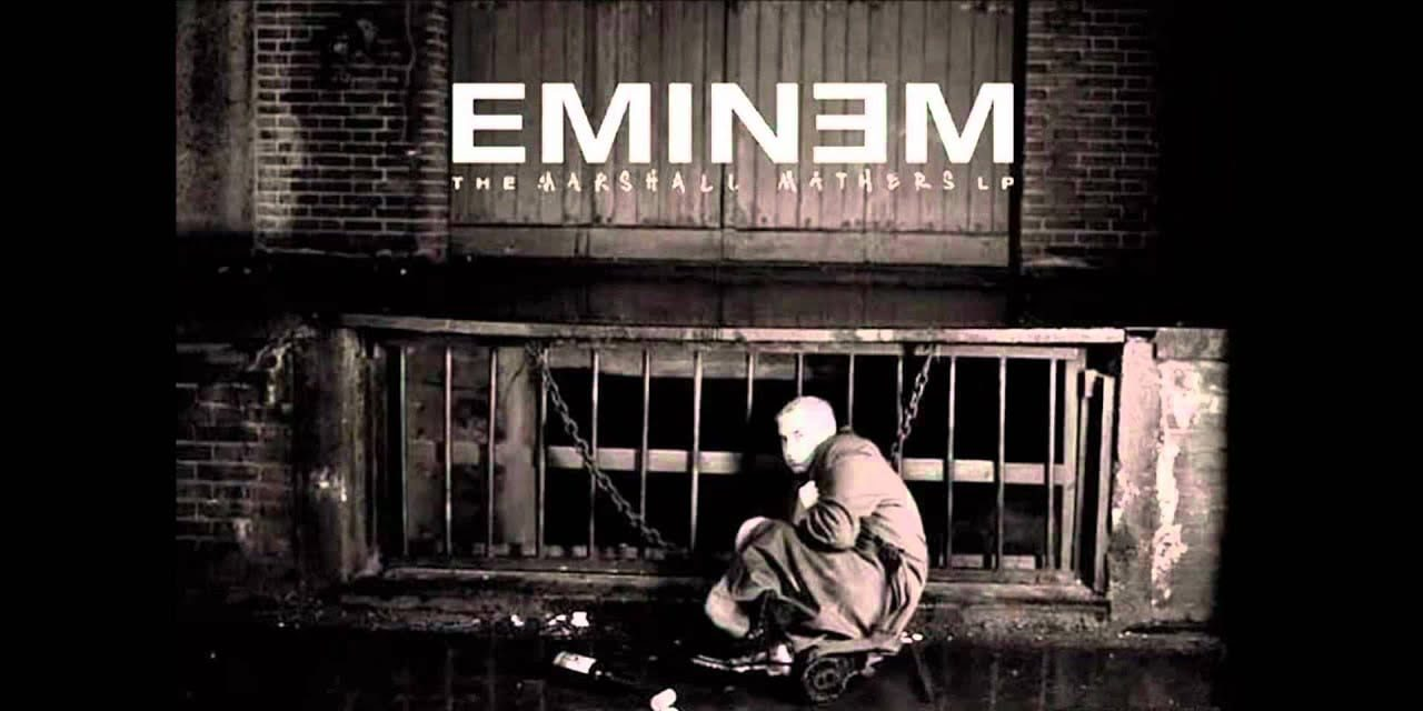 Marshall Mathers LP cover Eminem