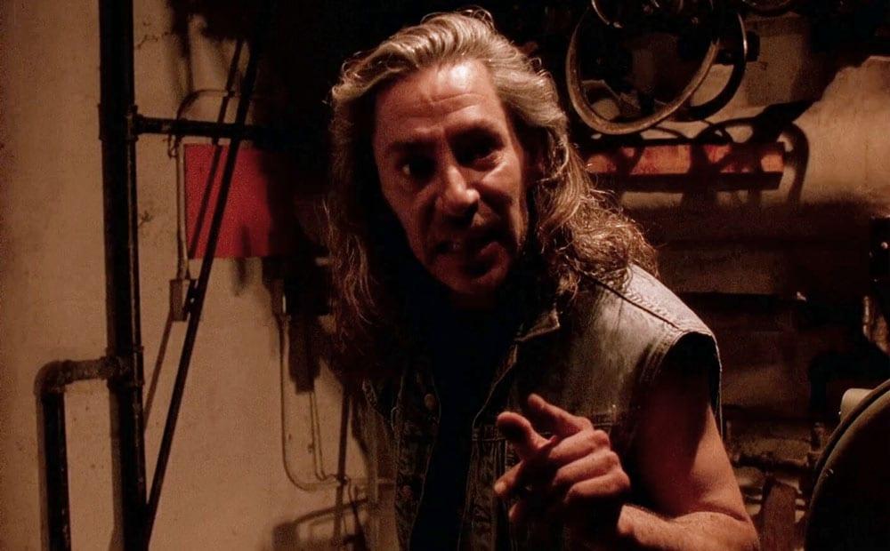Bob from Twin Peaks in a boiler room