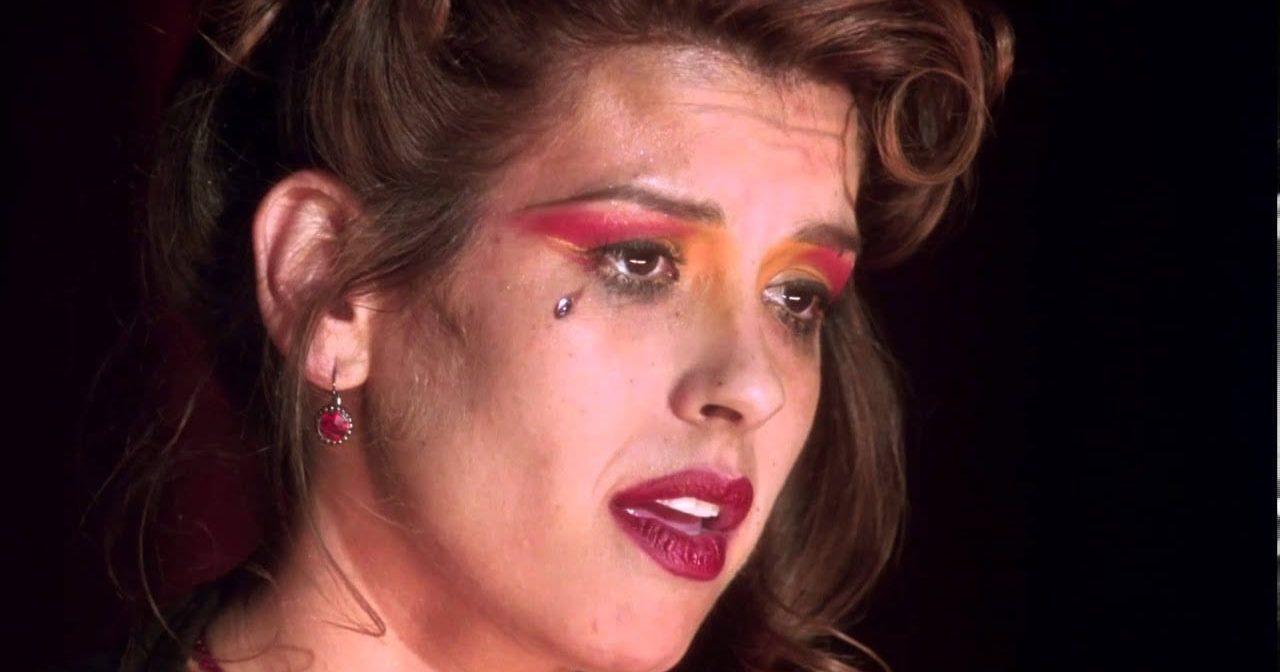 Rebecca Del Rio sings in the silencio club in Mulholland Drive