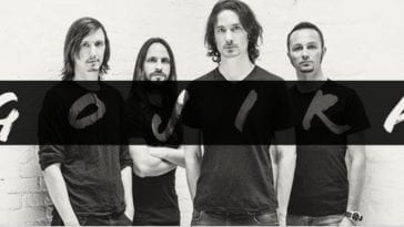 Promotional photo of Gojira