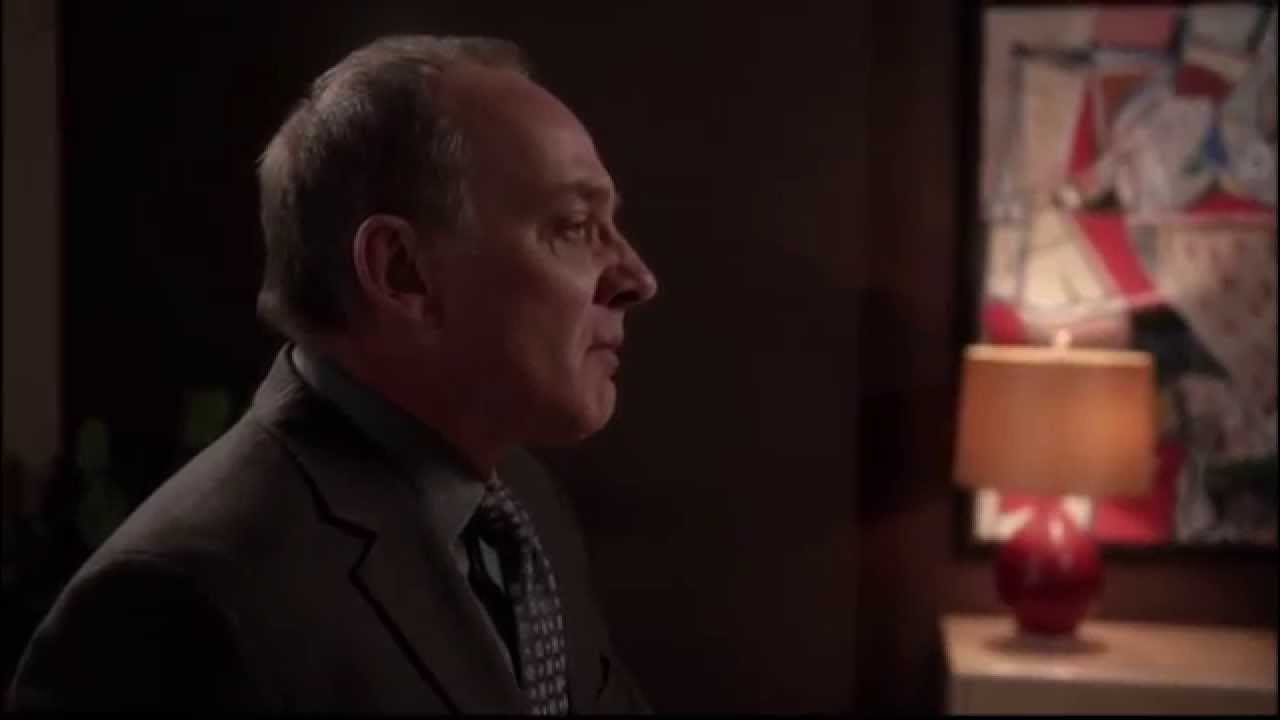"David Lee crying in The Good Wife ""The Last Call"""
