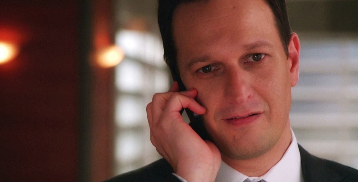 Will Gardner on his phone