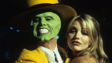 Carrey and Diaz dance in the Mask