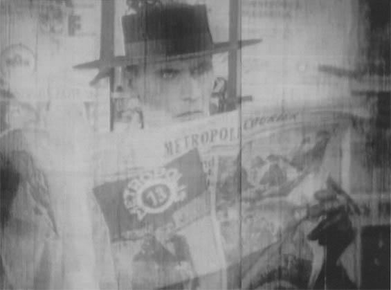 Thin Man reads a newspaper