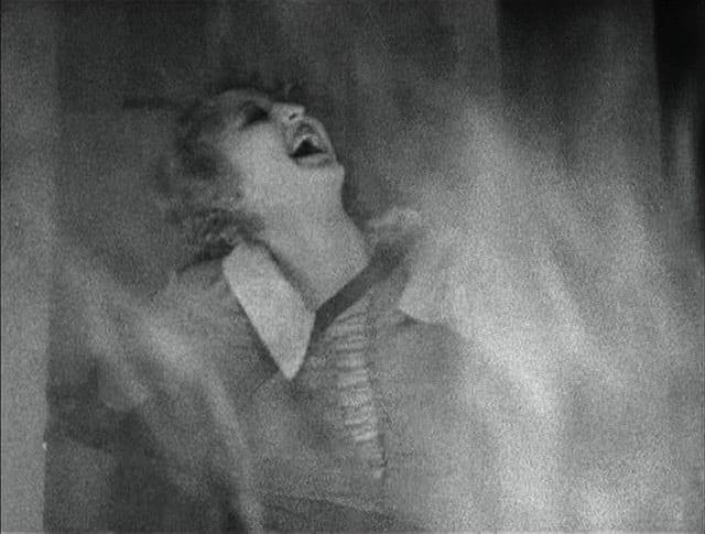 Robot Maria burning at the stake