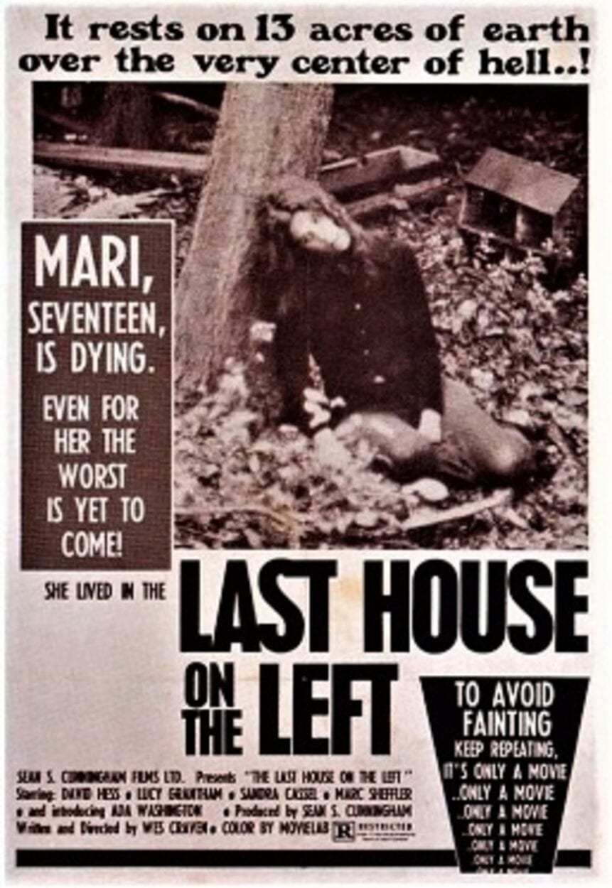 Last House on the Left movie poster
