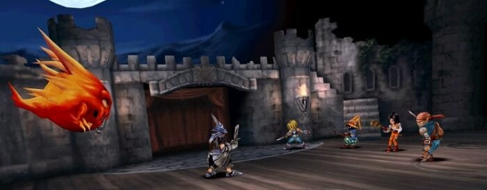 Battle sequence where the team fight the guard of the princess.