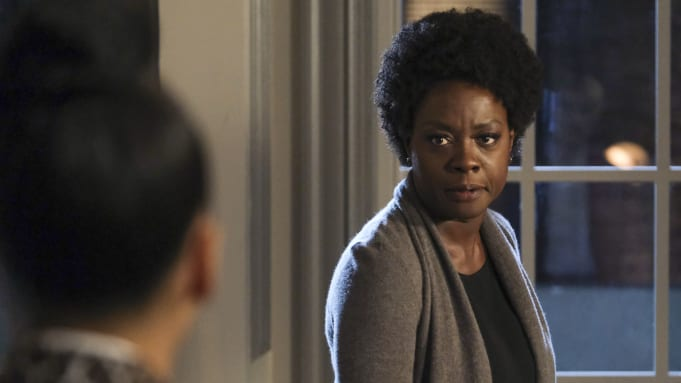 Viola Davis as Annalise Keating in the How to Get Away with Murder finale