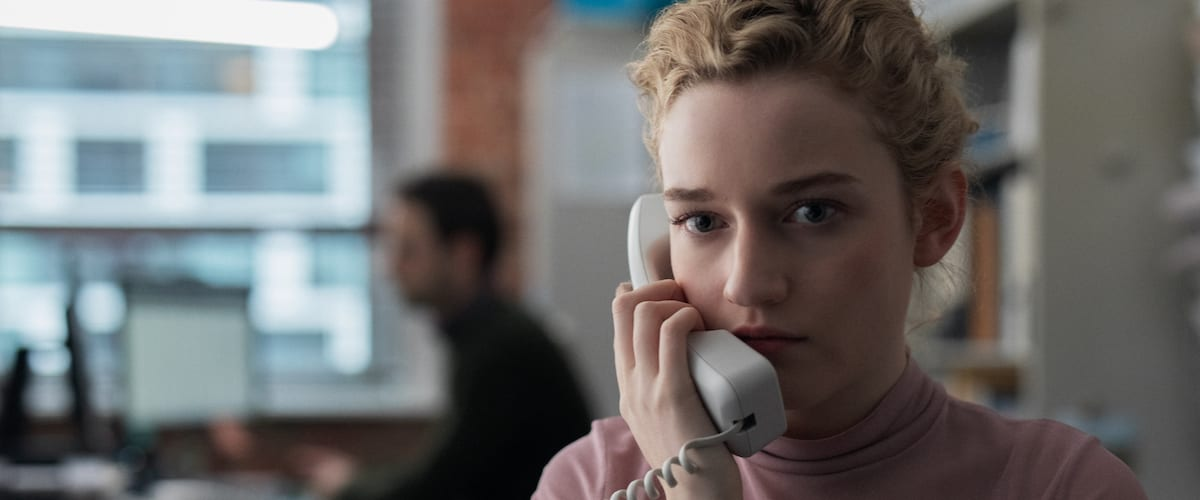 Julia Garner gives a phenomenal performance in Kitty Green's masterpiece The Assistant