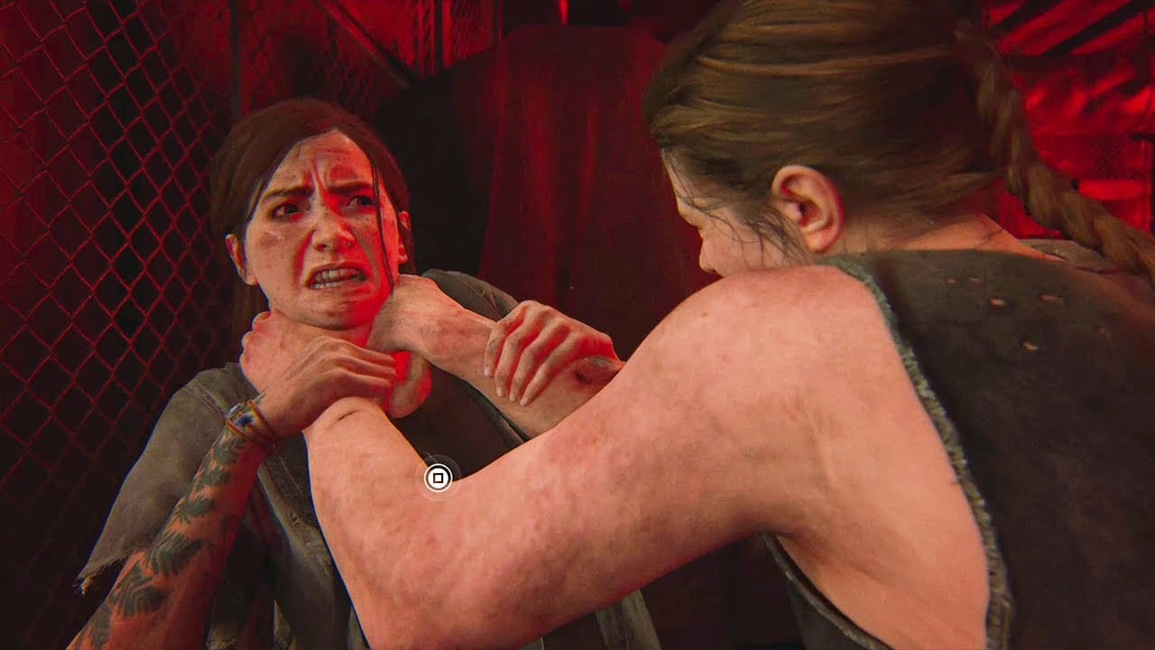 To show the first boss fight between Ellie and Abby