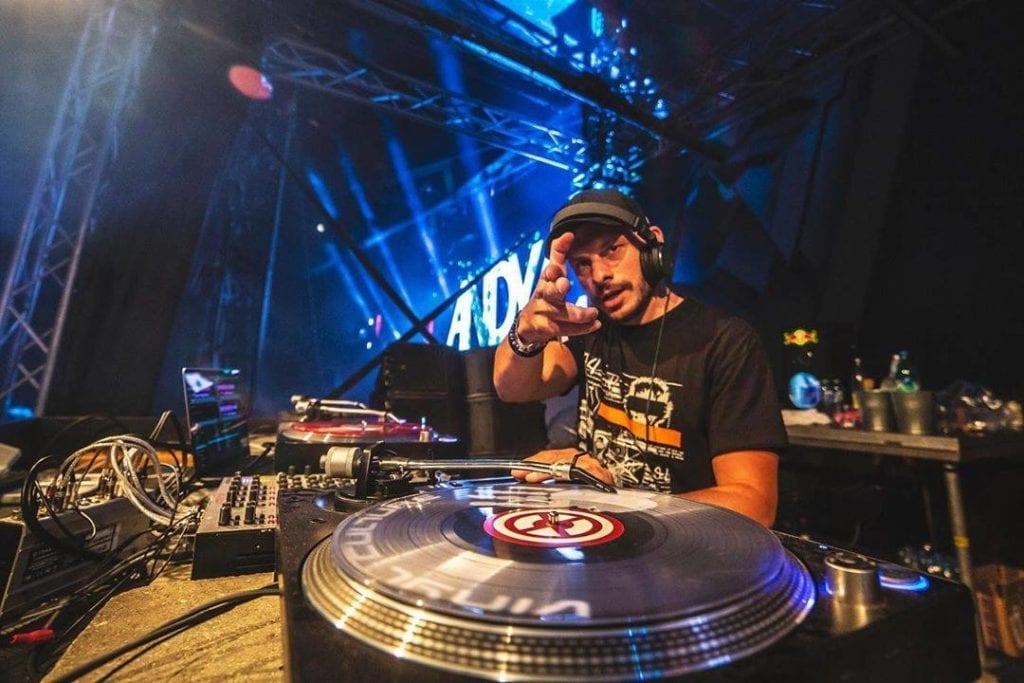 Andy C DJing