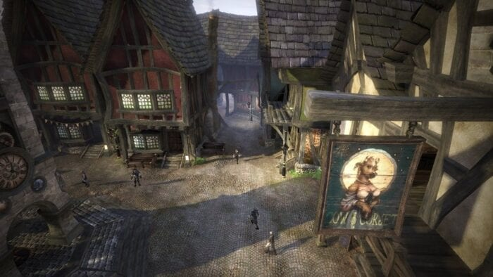 Town of Albion in Fable II