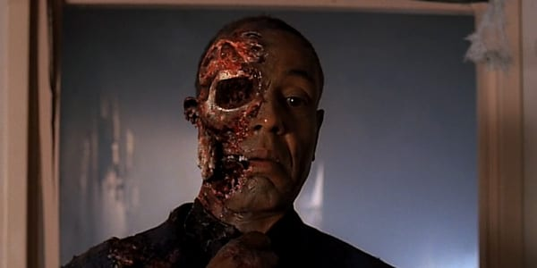 Gus Fring gets blown up