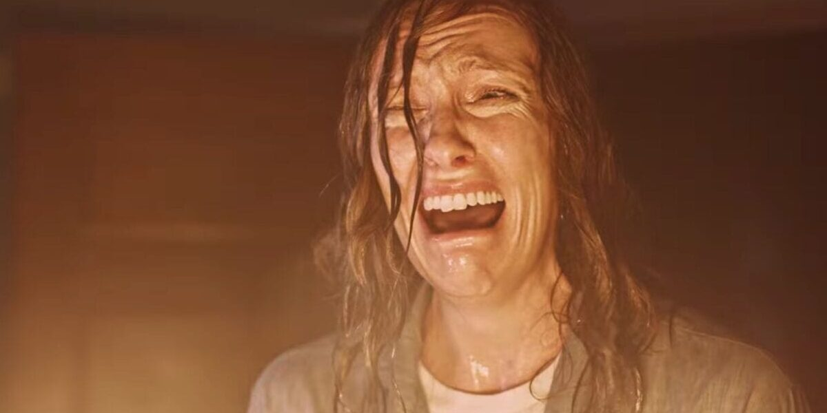 Annie Graham looking distraught