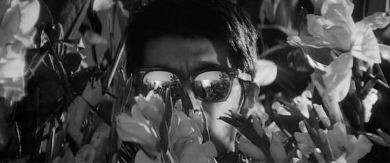 Tsutomu Yamazaki's unforgettable bespectacled eyes in High and Low, as shot by Asakazu Nakai