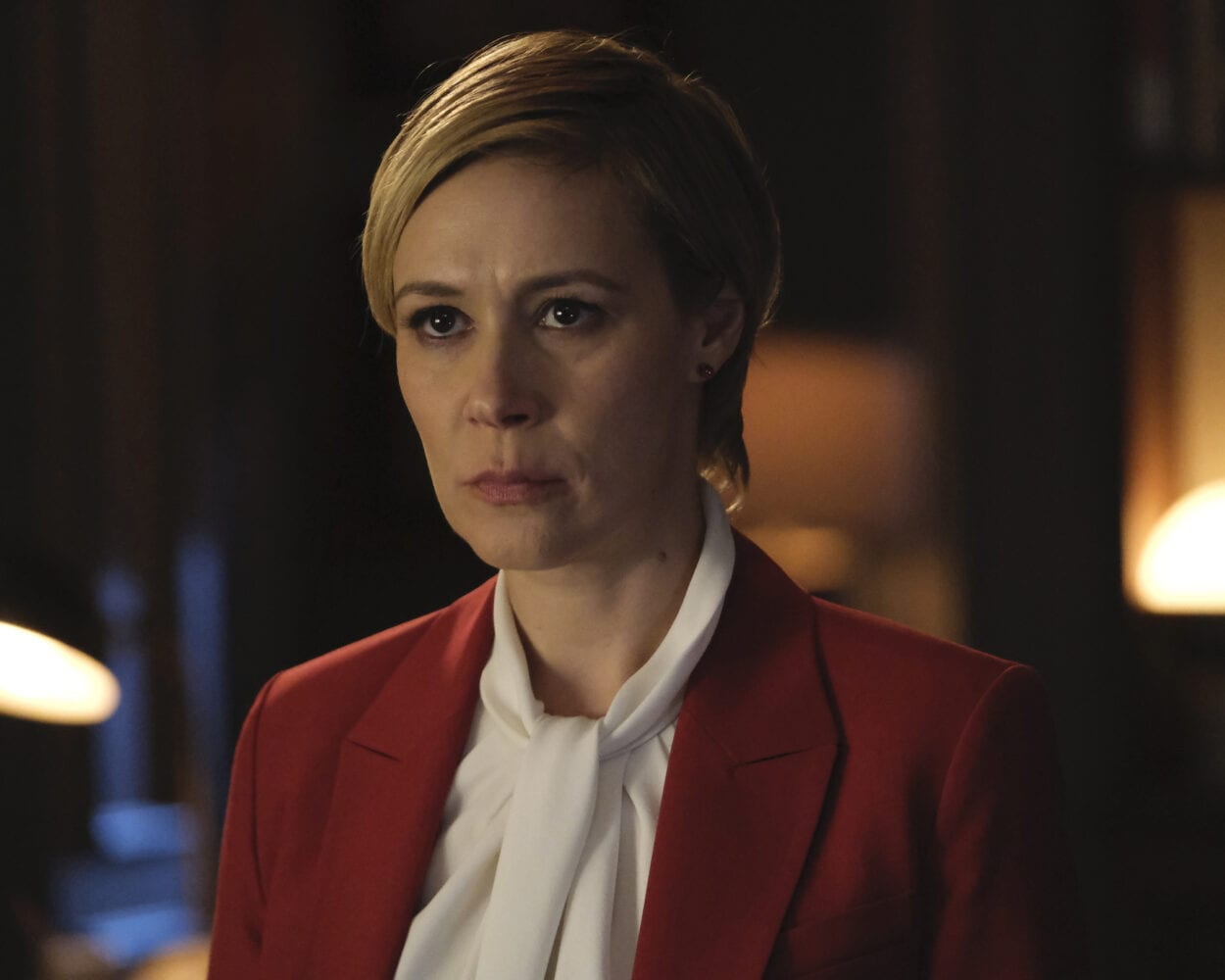 Liza Weil as Bonnie Winterbottom in the How to Get Away with Murder finale