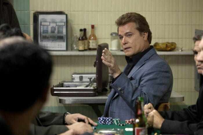 Ray Liotta points to admonish an underling.
