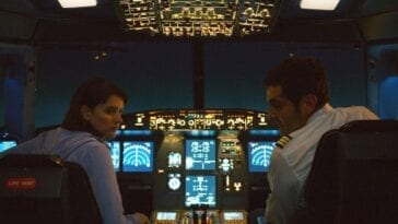 Pilots look over their shoulders in Into the Night