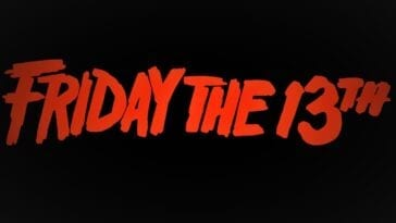 Friday the 13th splash logo.