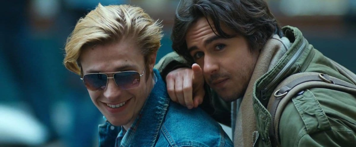 Ben Schnetzer and Gijs Blom in The Death & Life of John F. Donovan