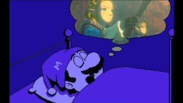 Mario dreams of Breath of the WIld 2