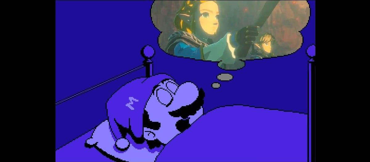 Mario dreams of Breath of the WIld 2