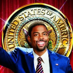 Mays Gilliam in front of a Presidential seal