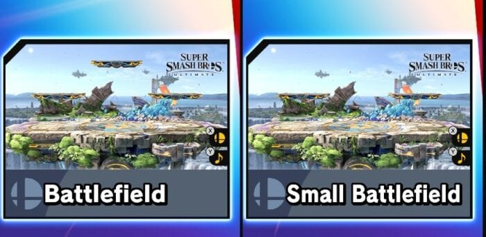 Small Battlefield is almost identical to the Battlefield.