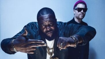 Rapper Killer Mike and Rapper/Producer El-P a.k.a. Run the Jewels