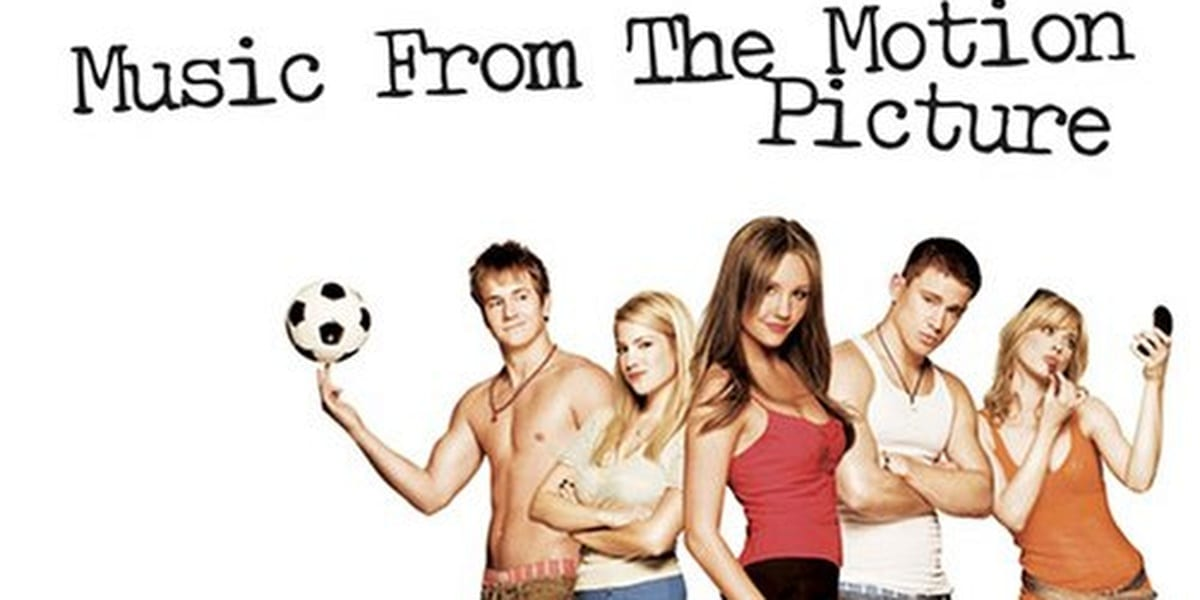 She's The Man Soundtrack Album Cover with cast pictured, including Amanda Bynes in forefront