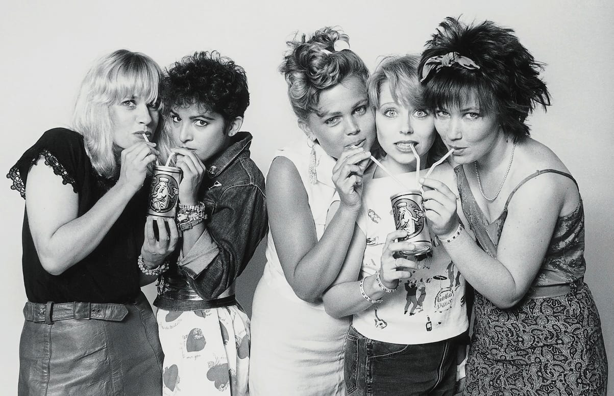 The Go-Go's in 1981