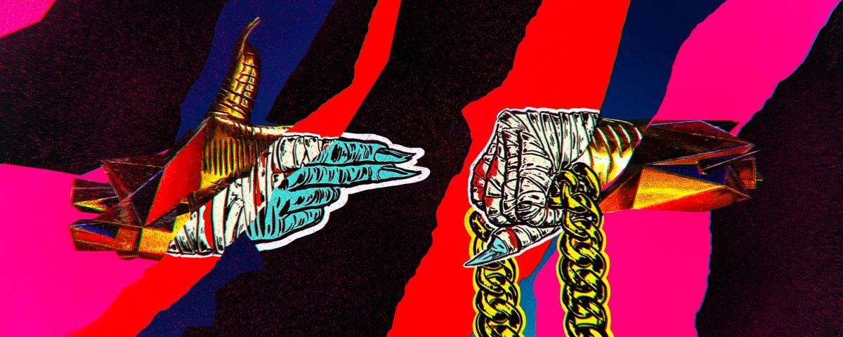 Run the Jewels Album Covers