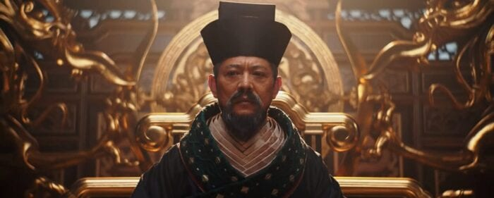 The Emperor of China steps down from his thrown
