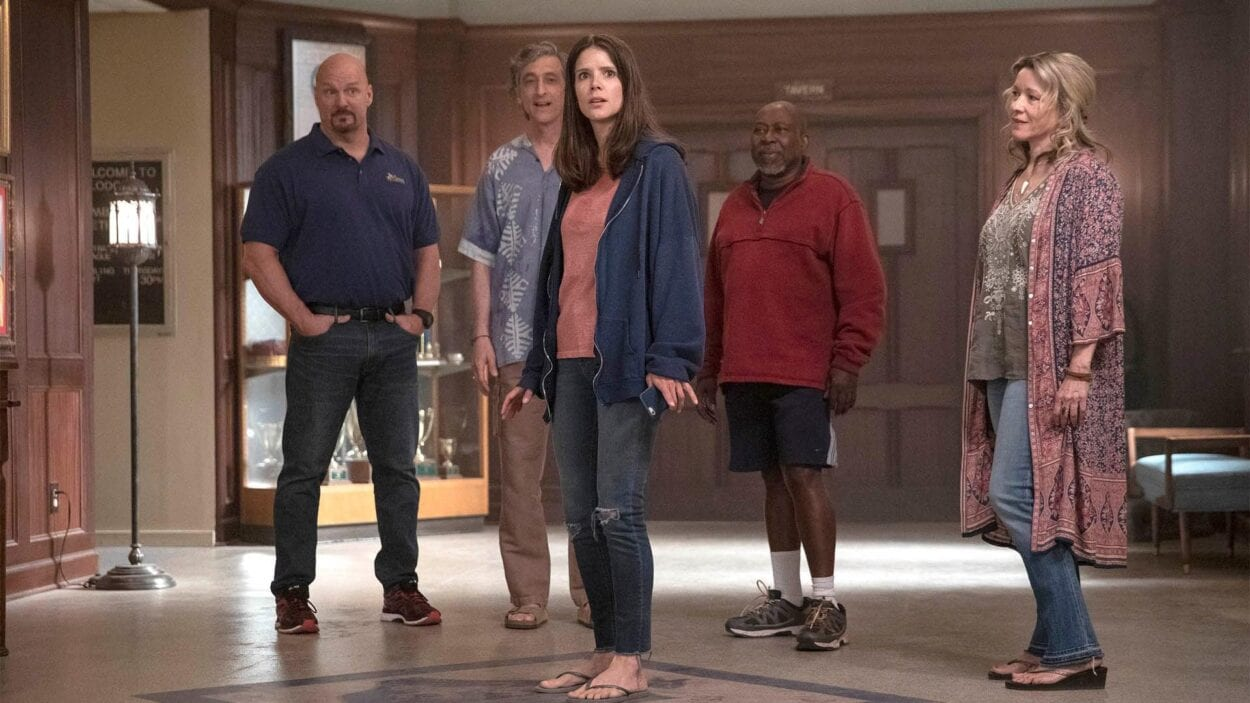 Liz enters Lodge 49 for the first time