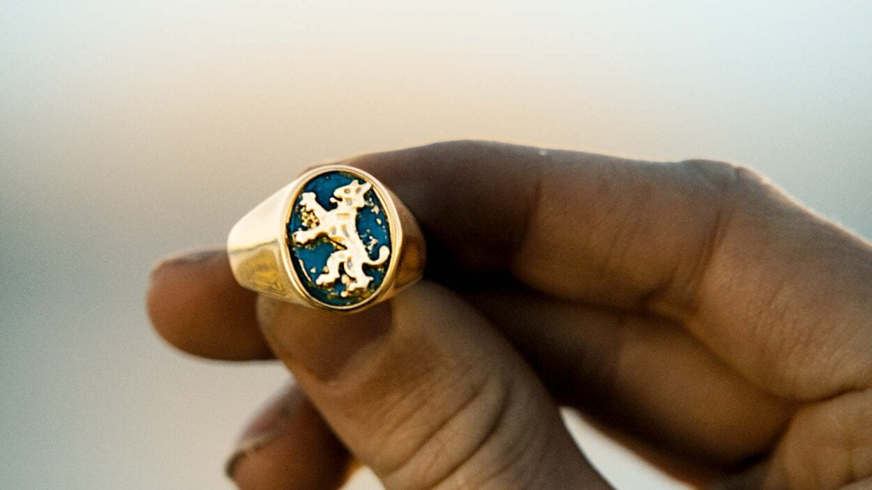 The Order of the Lynx ring