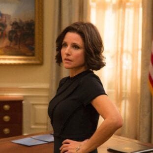 Selina Meyer in the Oval Office