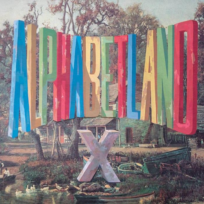 Alphabetland by X cover